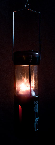 Candle Lantern in use. - © 2017 - Gary Waidson - Ravenlore