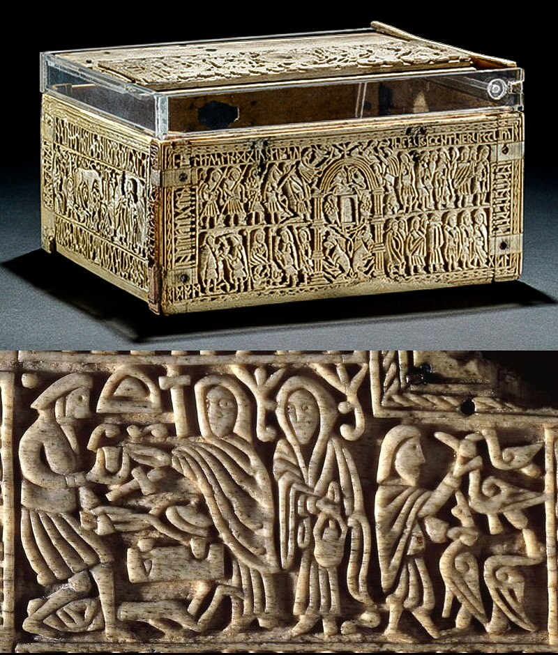 Franks Casket and the Wayland Panel